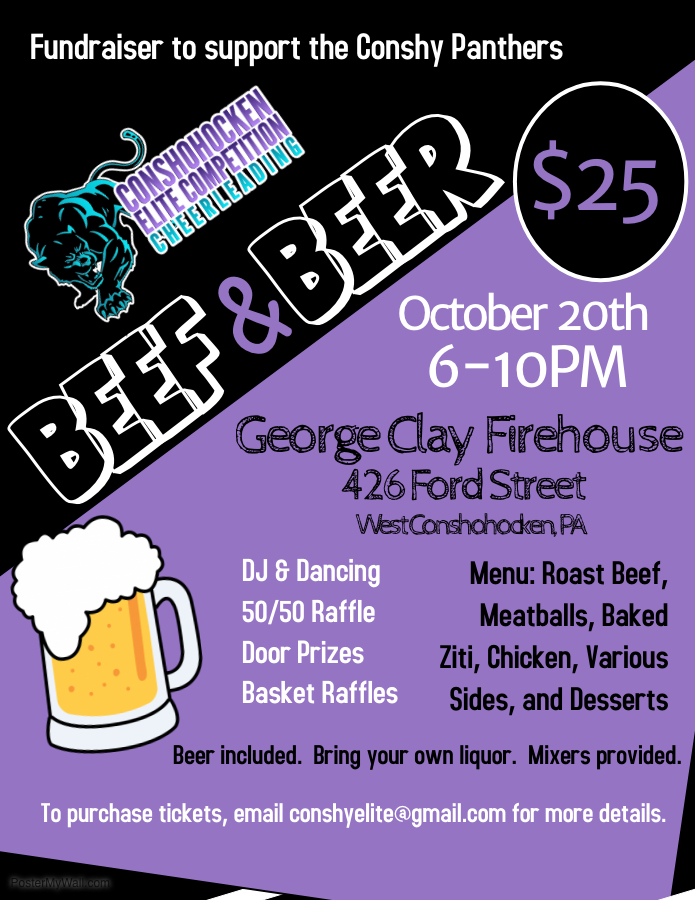 Panthers Beef & Beer 10.20.18